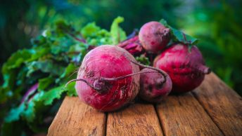 Just harvested Beet roots