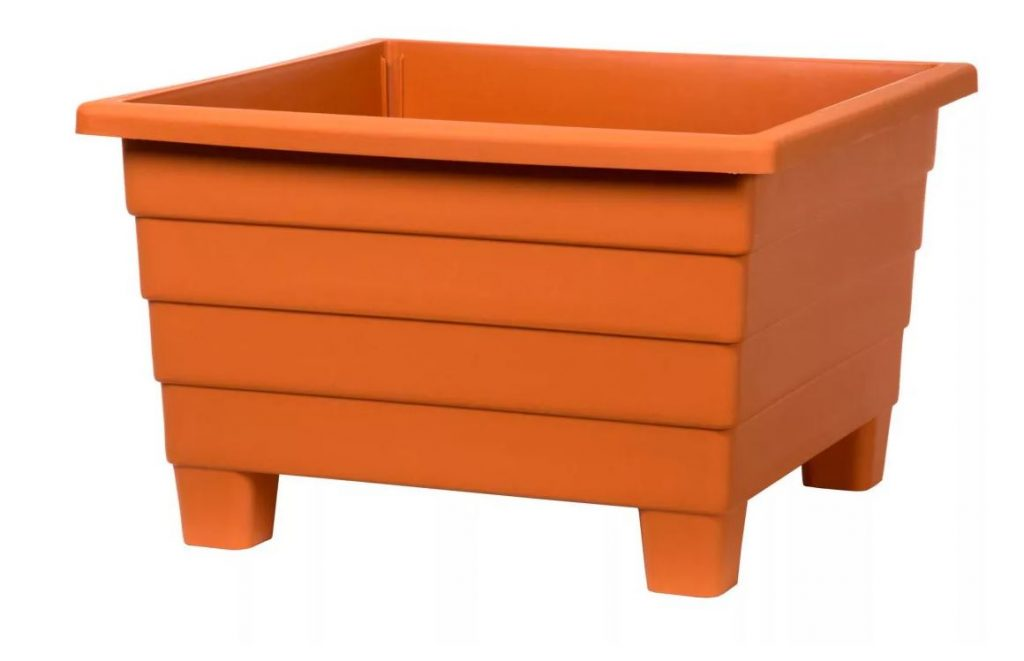 Orange Square Container for your garden
