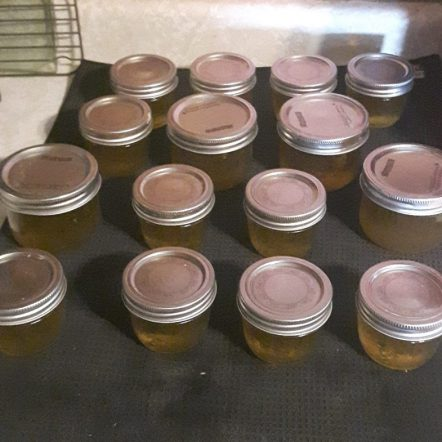 jars of jalapeno jelly on counter