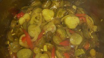 pot full of pickles