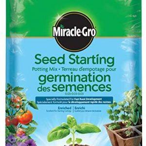 Seed Starting Miracle Grow 6.6 Liter Bag
