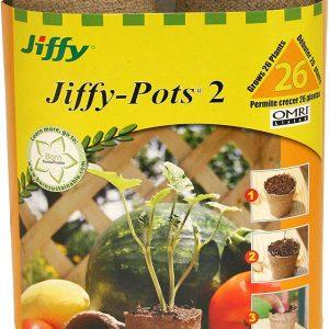 Plantation Ferry Morse 5214 26-Count 2-1/4-Inch Jiffy Pots